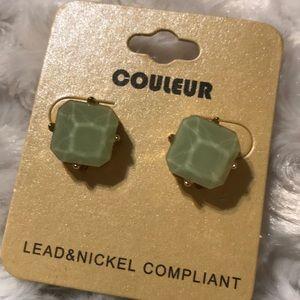 Gum drop earrings